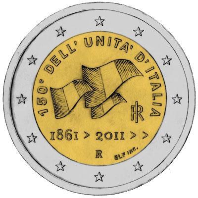 2 Euro comm. 2011 Italia