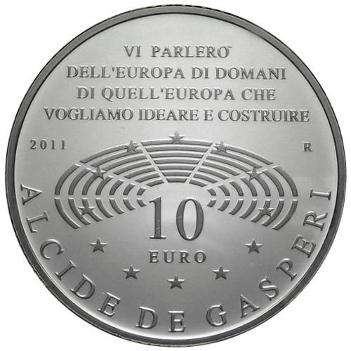 10 Euro Alcide De Gasperi