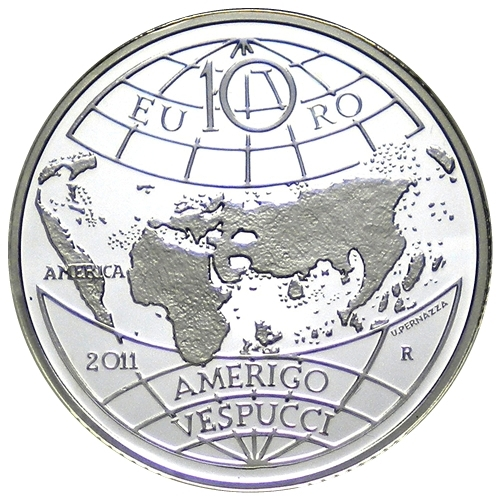 10 Euro Amerigo Vespucci