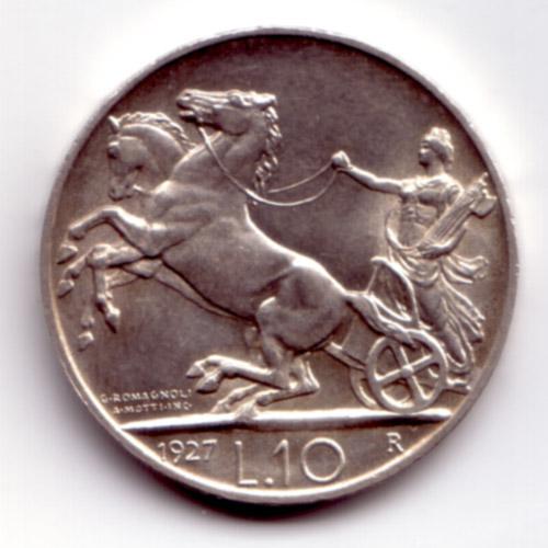 10 Lire Vittorio Emanuele III