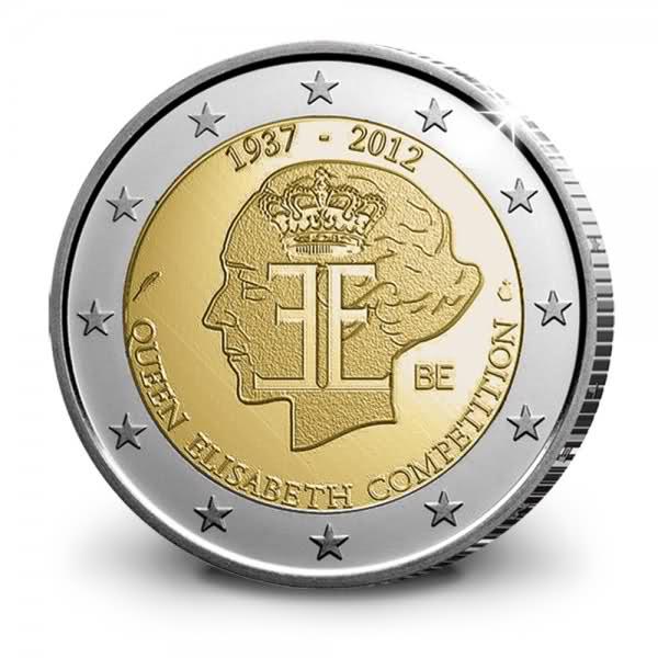 2 Euro Belgio 2012