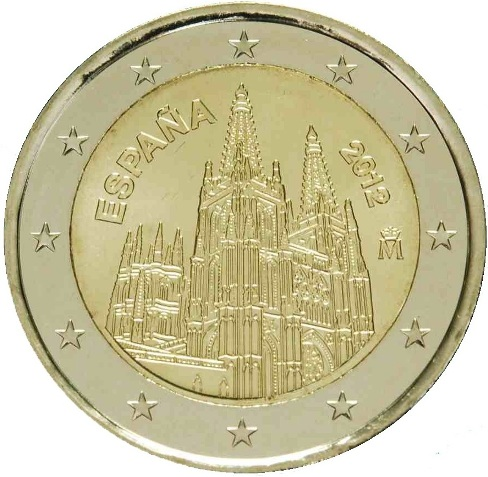 2 Euro Spagna 2012
