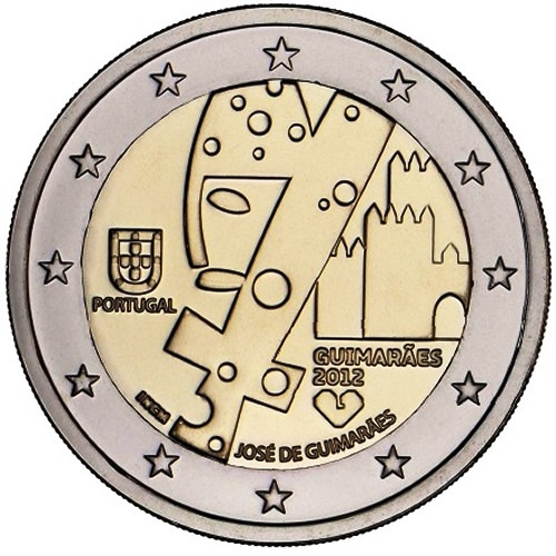 2 Euro Portogallo 2012