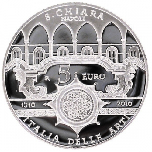 5 Euro Santa Chiara 2010