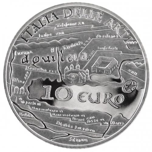 10 Euro Aquileia 2010