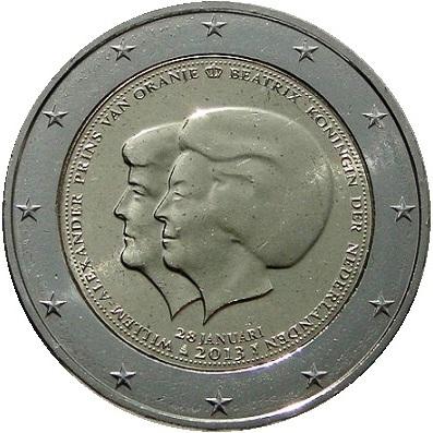 2 Euro Olanda 2013