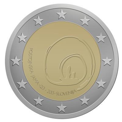 2 Euro Slovenia 2013