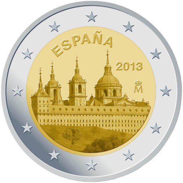 2 Euro Spagna 2013