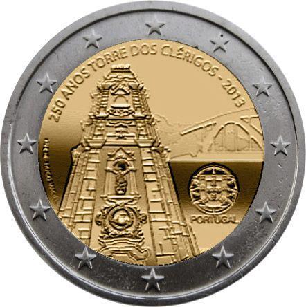 2 Euro Portogallo 2013