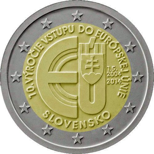 2 Euro Slovacchia 2014