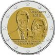 2 Euro Lussemburgo 2015
