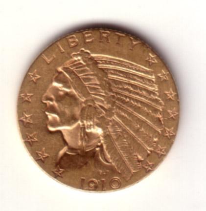 5 Dollari Indiano