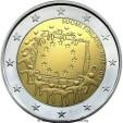 2 Euro Finlandia Bandiera Europea 2015