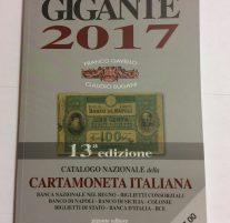 Gigante 2017 Cartamoneta Italiana