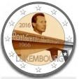 2 Euro Lussemburgo 2016