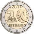 2 Euro Lussemburgo 2017