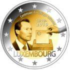 2 Euro Lussemburgo  2019
