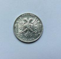 5 Lek Albania   Vittorio Emanuele III