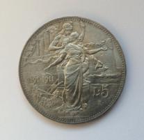 5 lire Vittorio Emanuele III